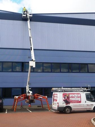 High Level Access Equipment by Roofing Wolverhampton
